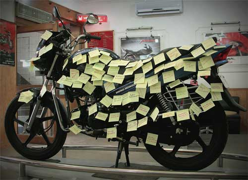 honda post it