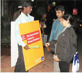 street marketing bangalore